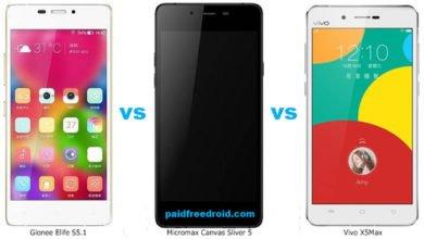 Photo of Micromax Canvas Sliver 5 vs Gionee Elife S5.1 vs Vivo X5Max: Slimmest Smartphone Comparison