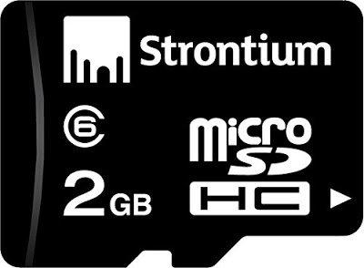 Strontium MicroSD Card 2 GB