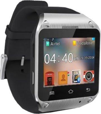 Spice Dual-SIM Smart Pulse Smartwatch