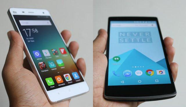 OnePlus 2 vs Xiaomi Mi5: Display Size