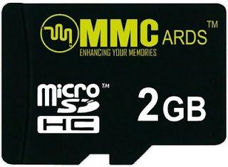 MMC MicroSDHC 2 GB Class 4