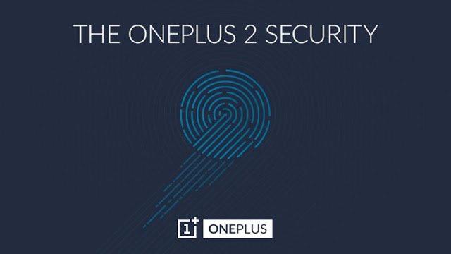 OnePlus 2 - fingerprint sensor