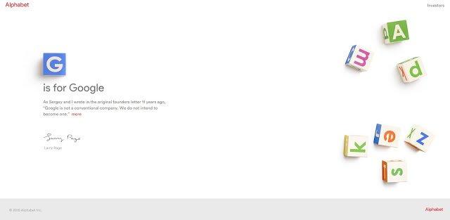 Google's 'Alphabet' Website Blocked By China