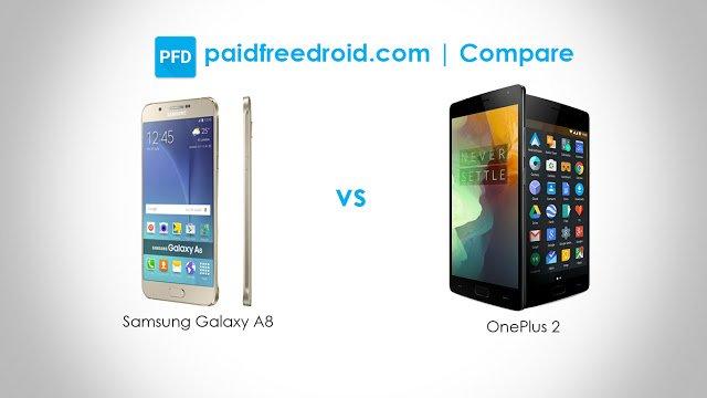 Samsung Galaxy A8 vs OnePlus 2