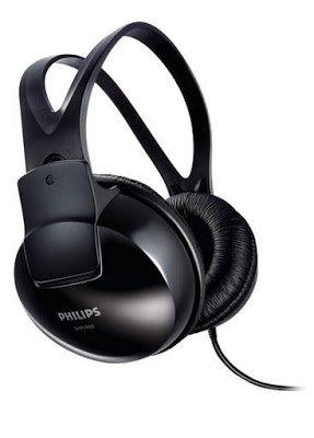 Philips SHP1900/97 Over-Ear Stereo Headphone (Black)