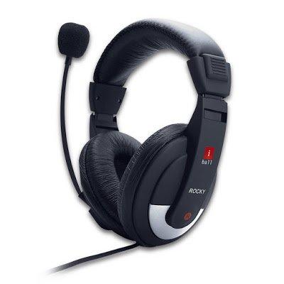 iball Rocky Over-Ear Headphone