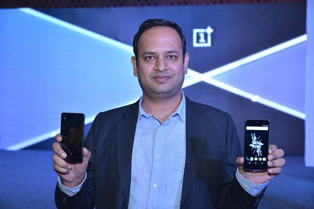 Vikas Agrawal Holding OnePlus X