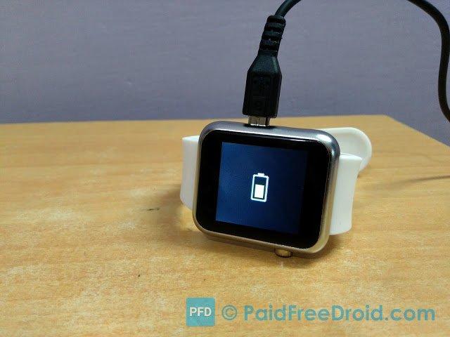 Atongm W009 Smartwatch Charging