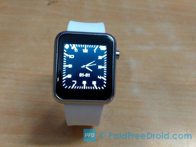Atongm W009 Smartwatch Display