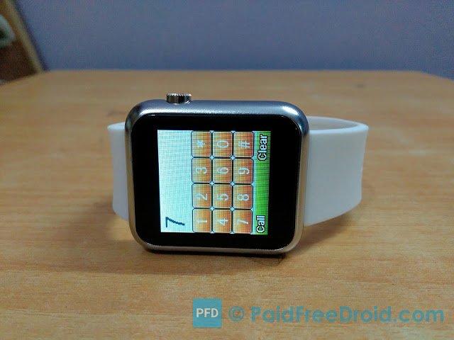 Atongm W009 Smartwatch Phone Dailpad