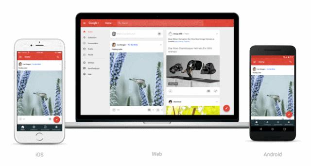 Google+ Redesigned