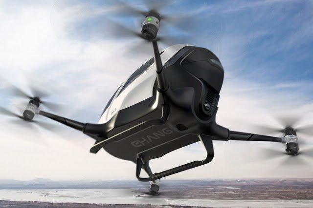 Ehang 184 Human Carrying Drone
