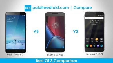 Photo of Xiaomi Redmi Note 3 vs Moto G4 Plus vs Lenovo Zuk Z1: The Best Of 3 Comparison