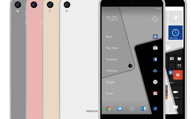 Nokia Android Nougat Smartphones