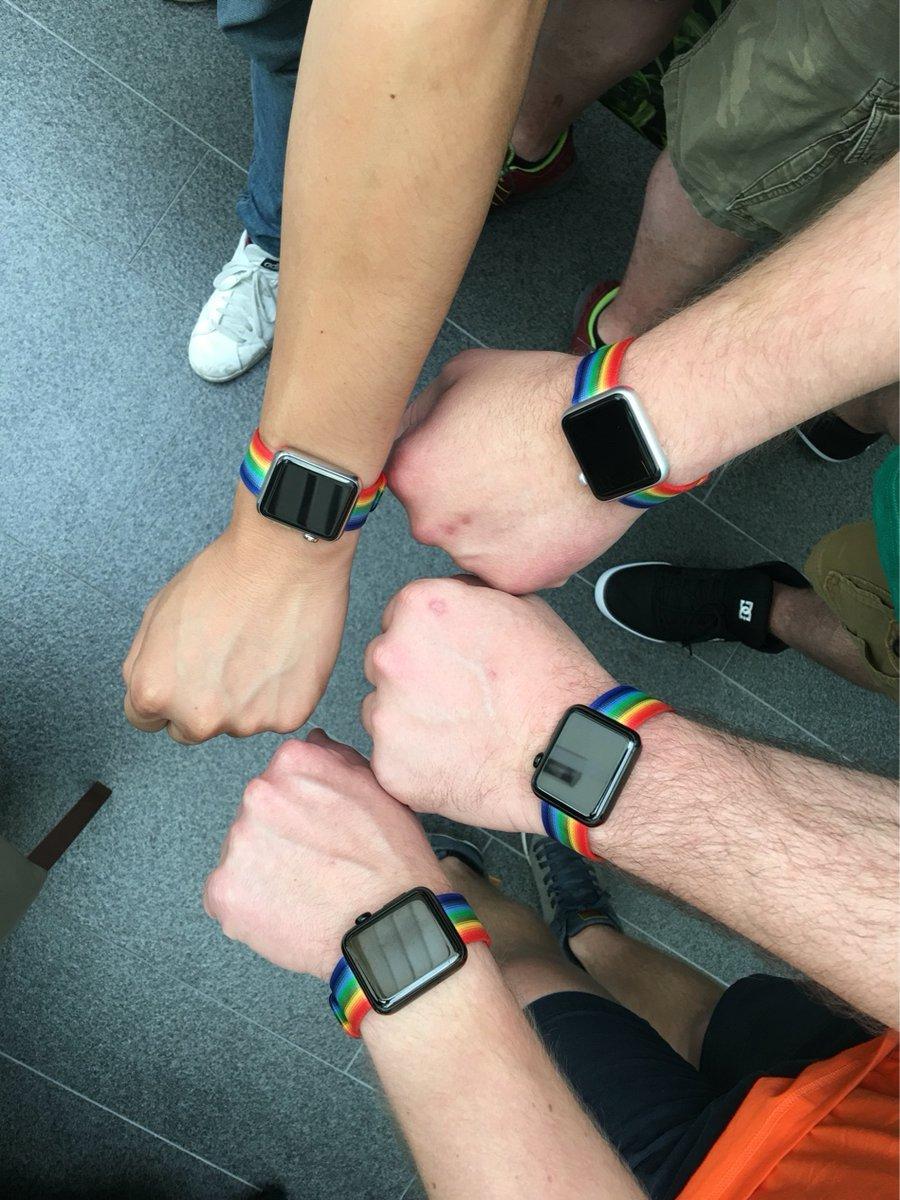 Rainbow Apple Watch Bands