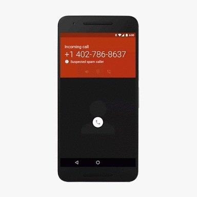 Google spam call detector