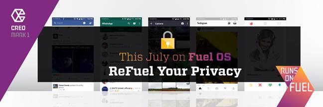 CREO's FUEL OS Privacy