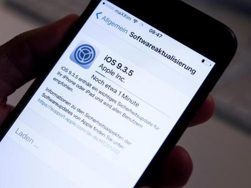 Apple release new update iOS 9.3.5