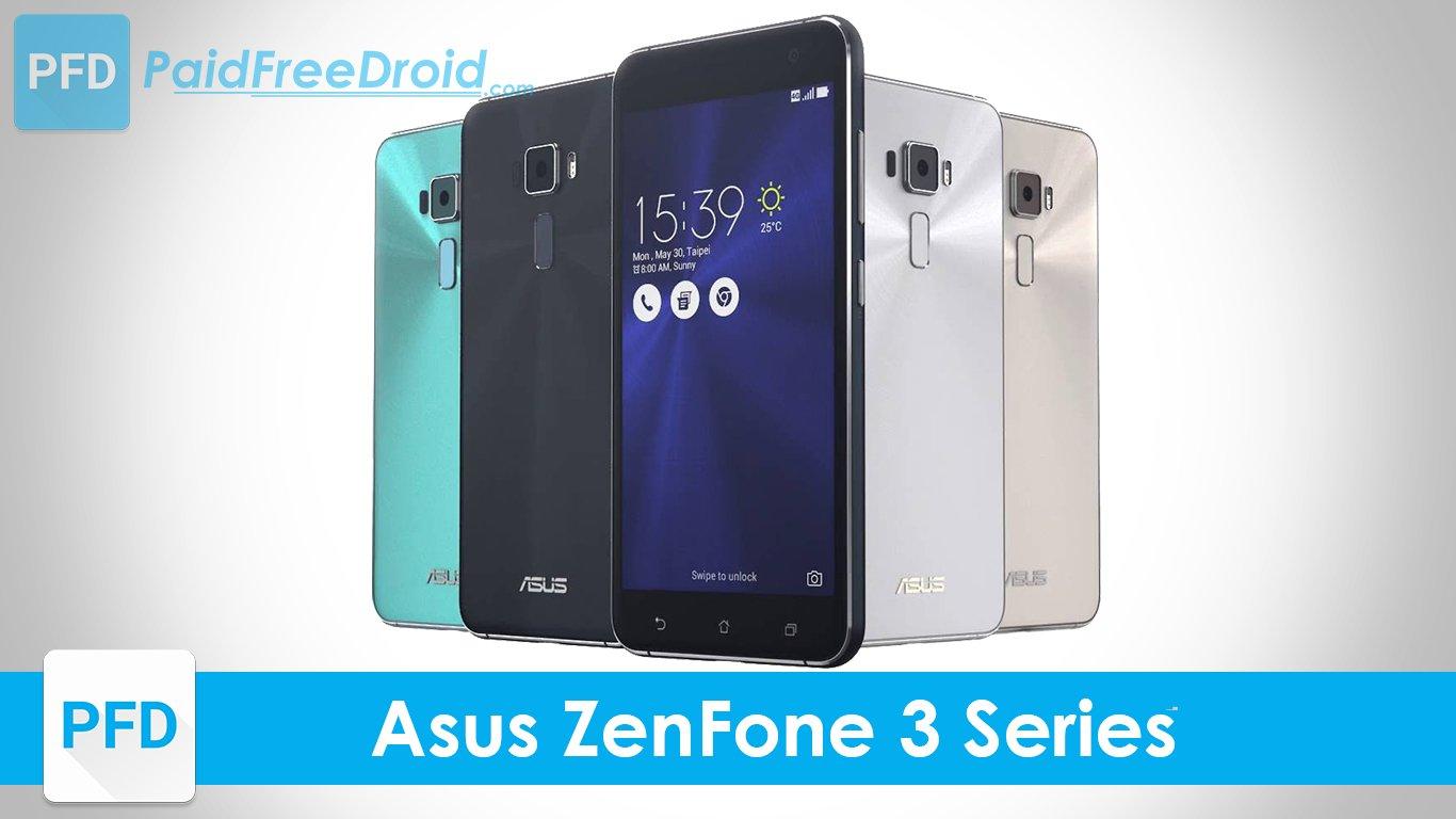 Six Asus ZenFone 3 series smartphones Launched in India