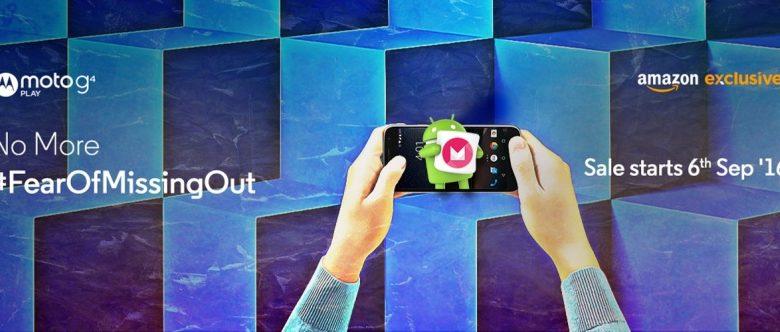 Moto G4 Play Launch Date