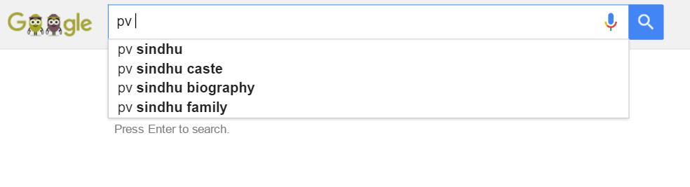 PV Sindhu Caste Google Search