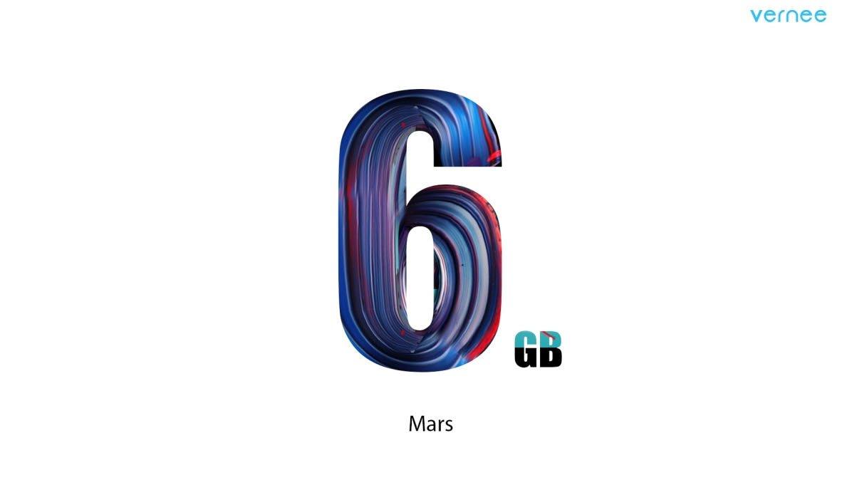 Vernee Mars 6 GB Ram