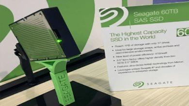 Seagate's 60 TB SSD