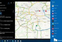 Maps app for Windows 10