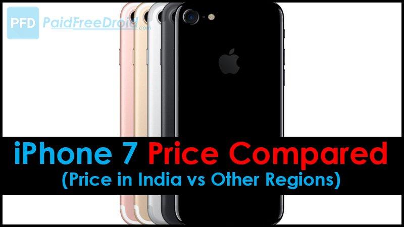 iPhone 7 Price Compared