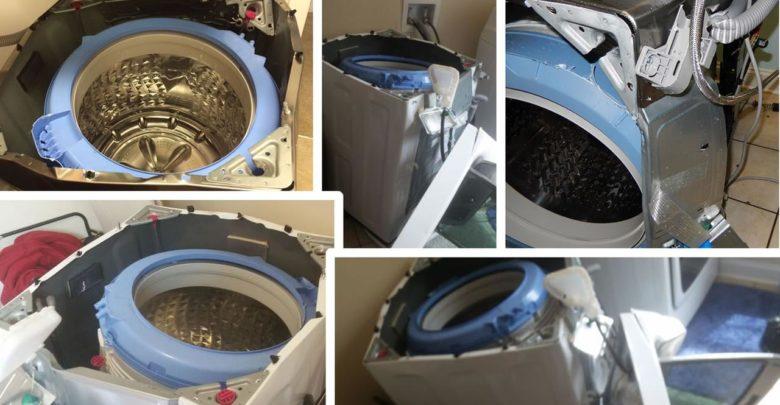 Samsung Explosions Washing Machine