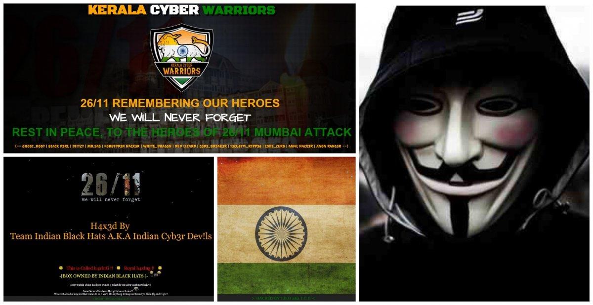 Indian Hackers Hacked Pakistani Websites