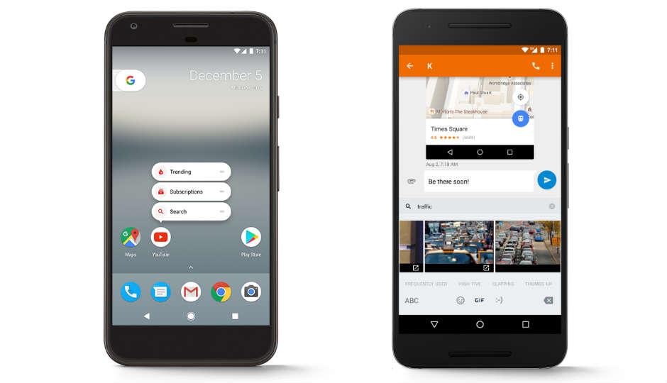 Google Pixel Nougat