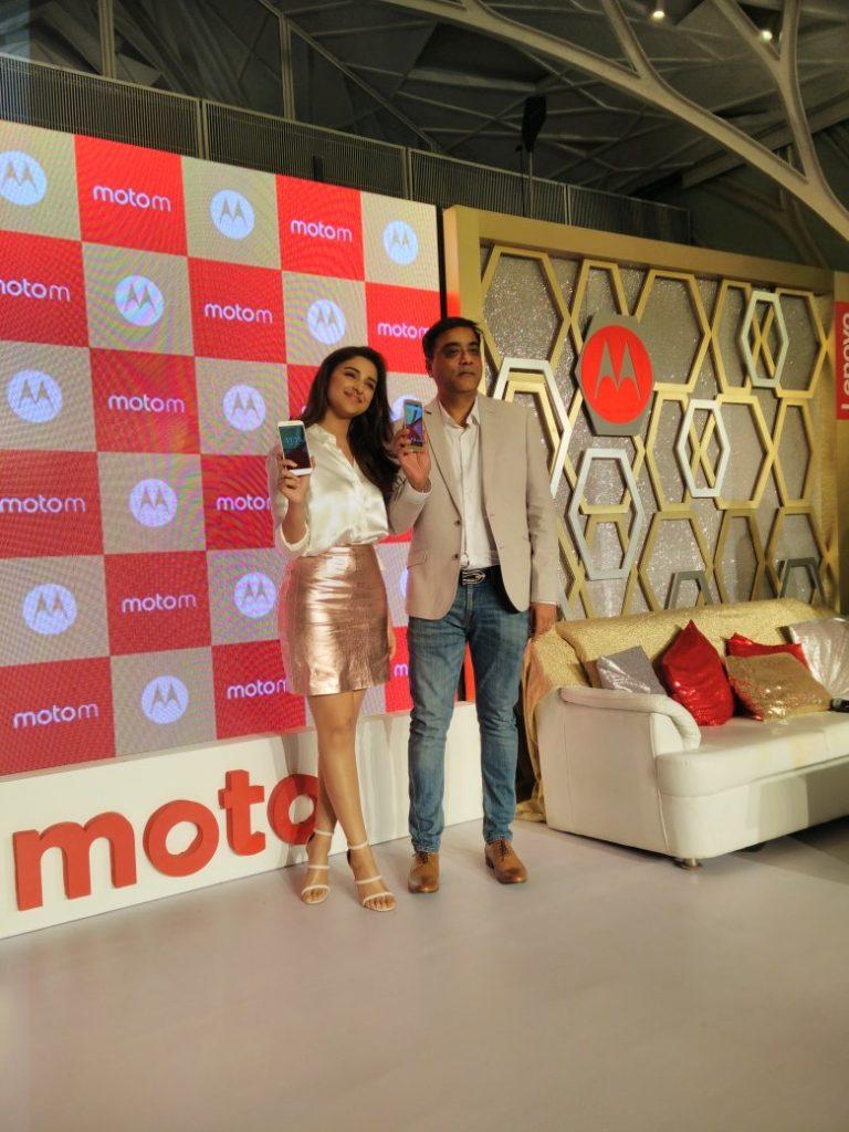 Moto M India Launch