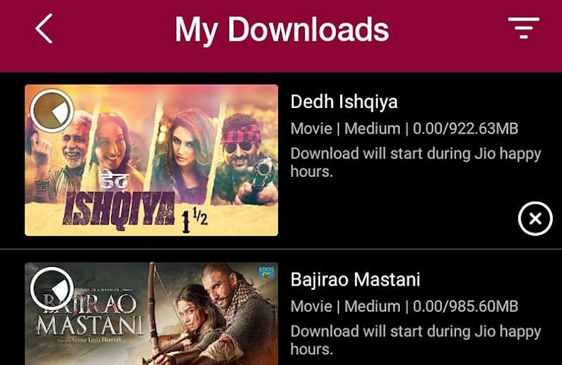 jio cinema smart download