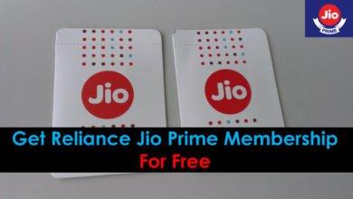 Jio Prime Membership Free