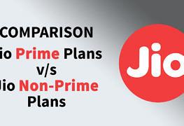 Jio Prime Plans Compared With Non-Prime Plans