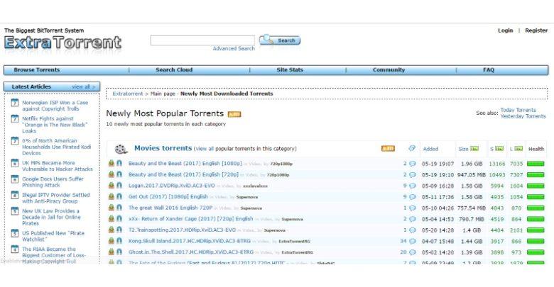 ExtraTorrent New Domain