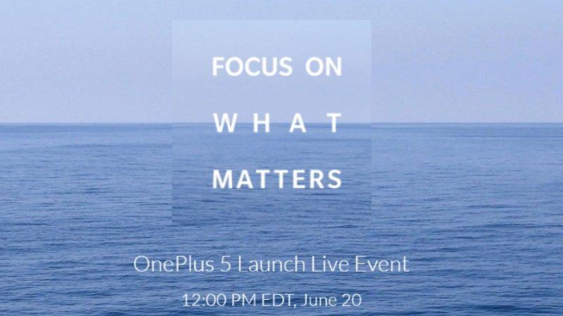 OnePlus 5 Launch