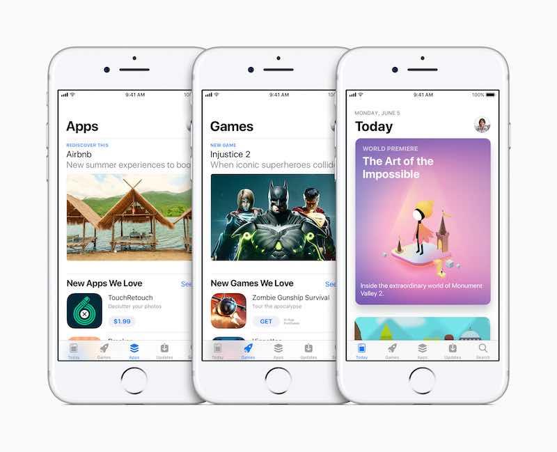 iOS 11 New App Store