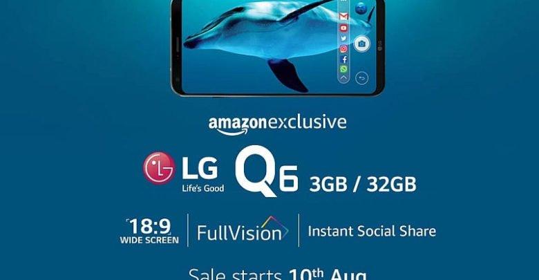 LG Q6 Launching in India