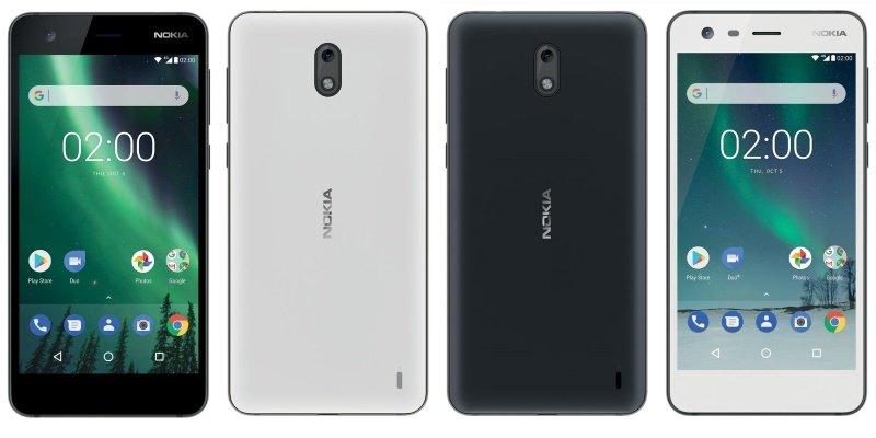 Nokia 2 Lineups