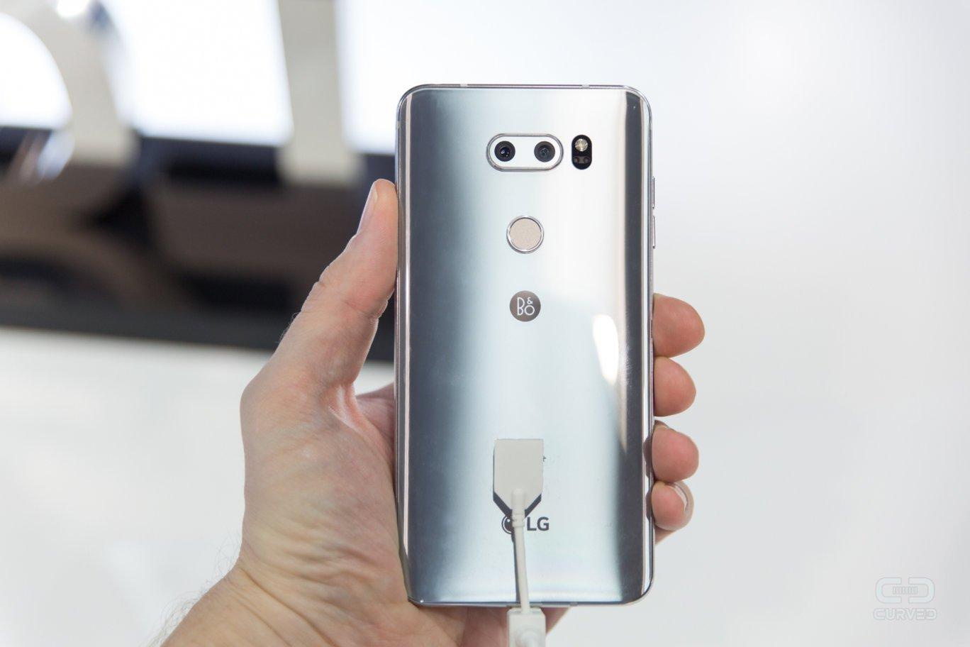 LG V30 Plus Back