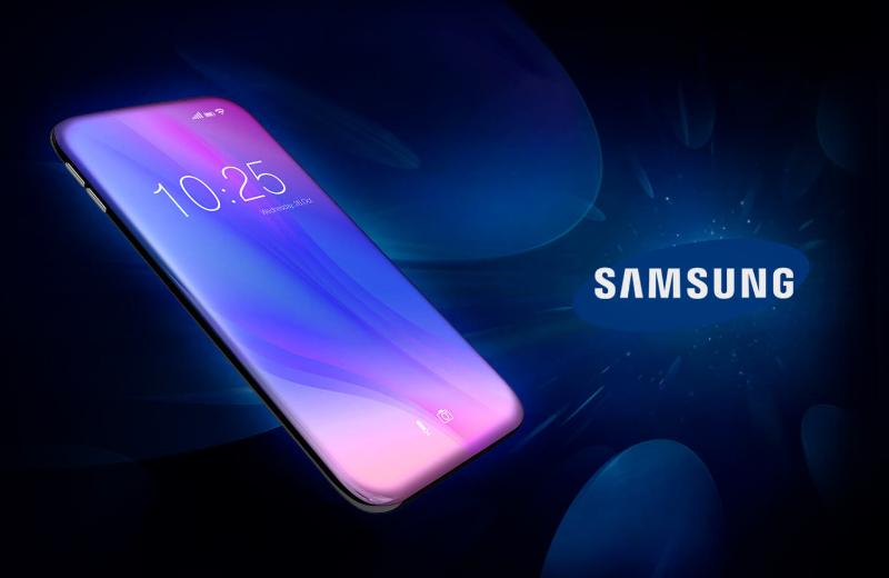 Samsung True Bezel-Less Smartphone