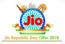 Jio Republic Day Offer 2018