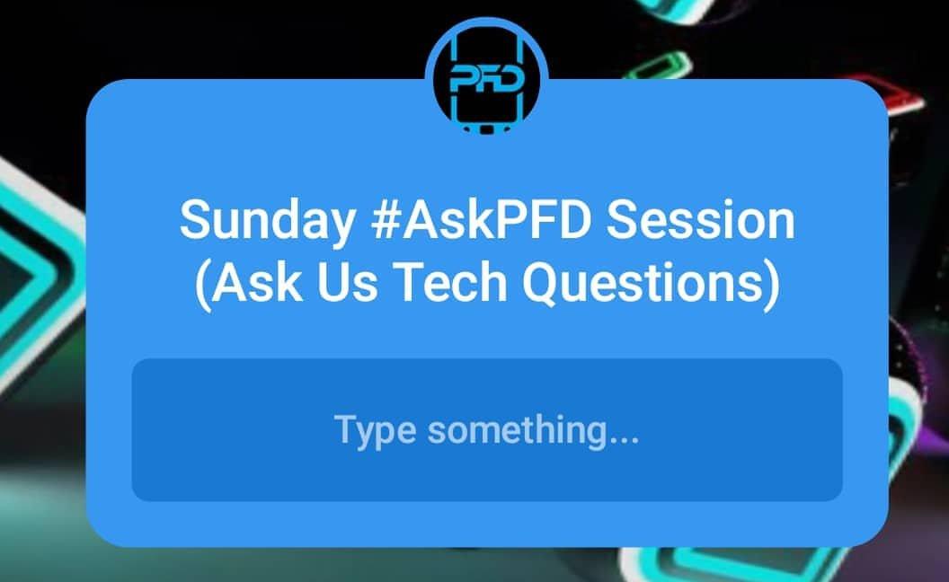 AskPFD Instagram Session