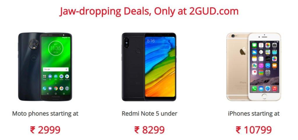 2Gud Sale On Smartphones