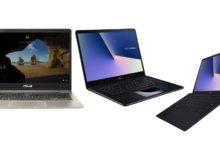 Asus Zenbook Pro, Zenbook S, Zenbook 13