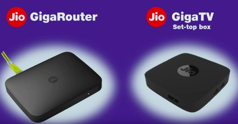 Jio GigaRouter Jio GigaTV