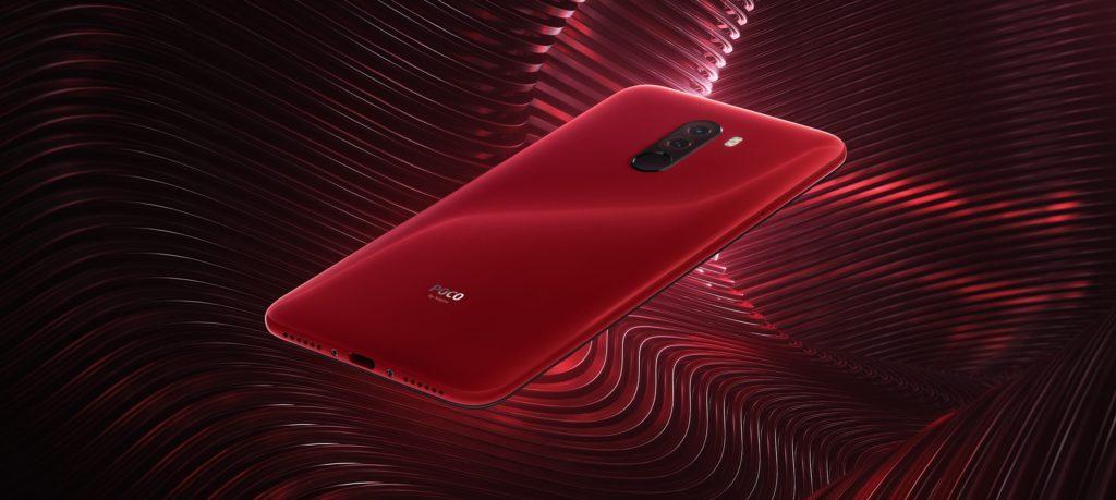 POCO F1 Rosso Red Color