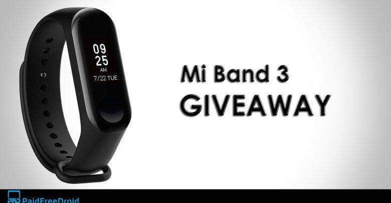 Mi Band 3 Giveaway